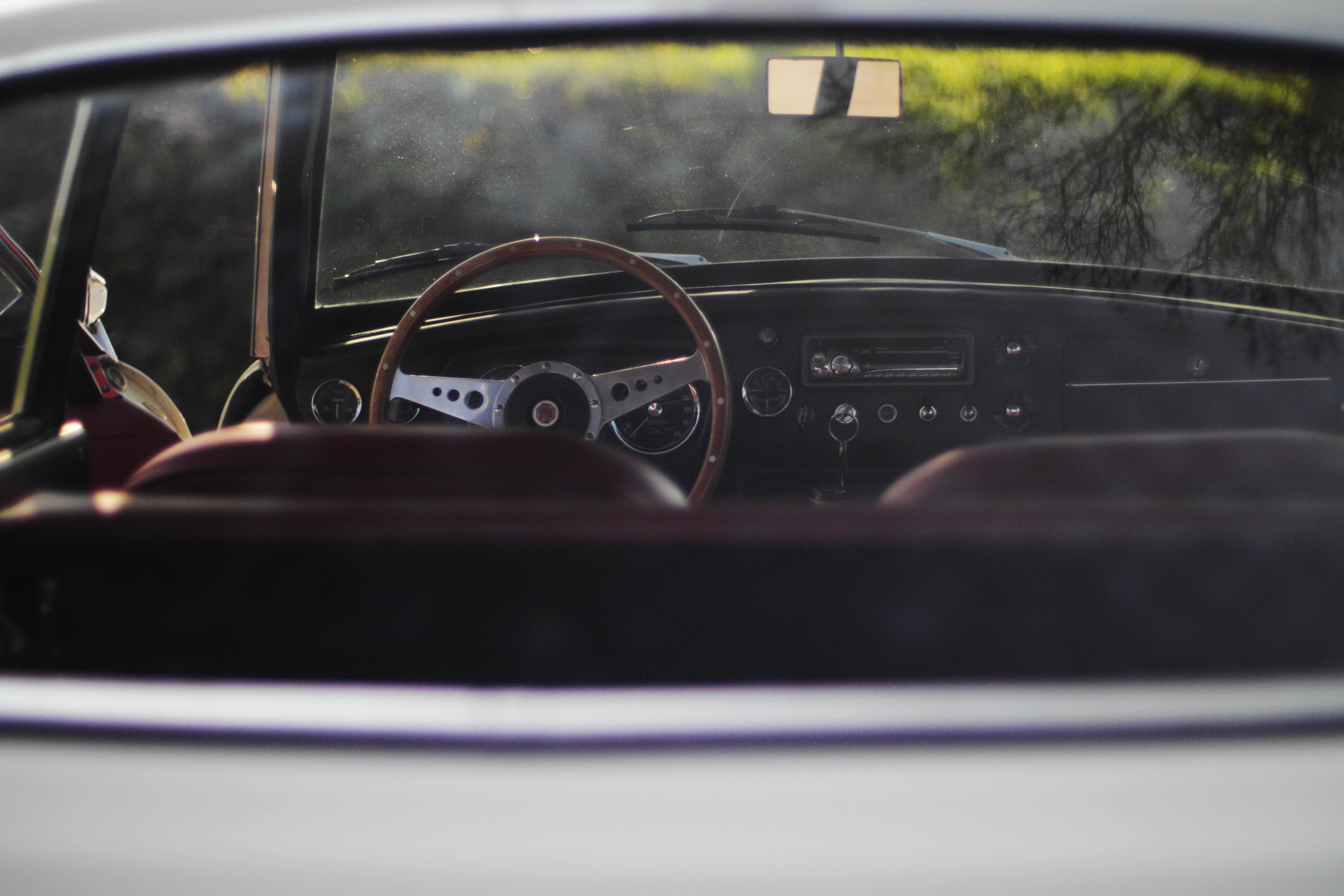 MG B GT 1965 Intérieur