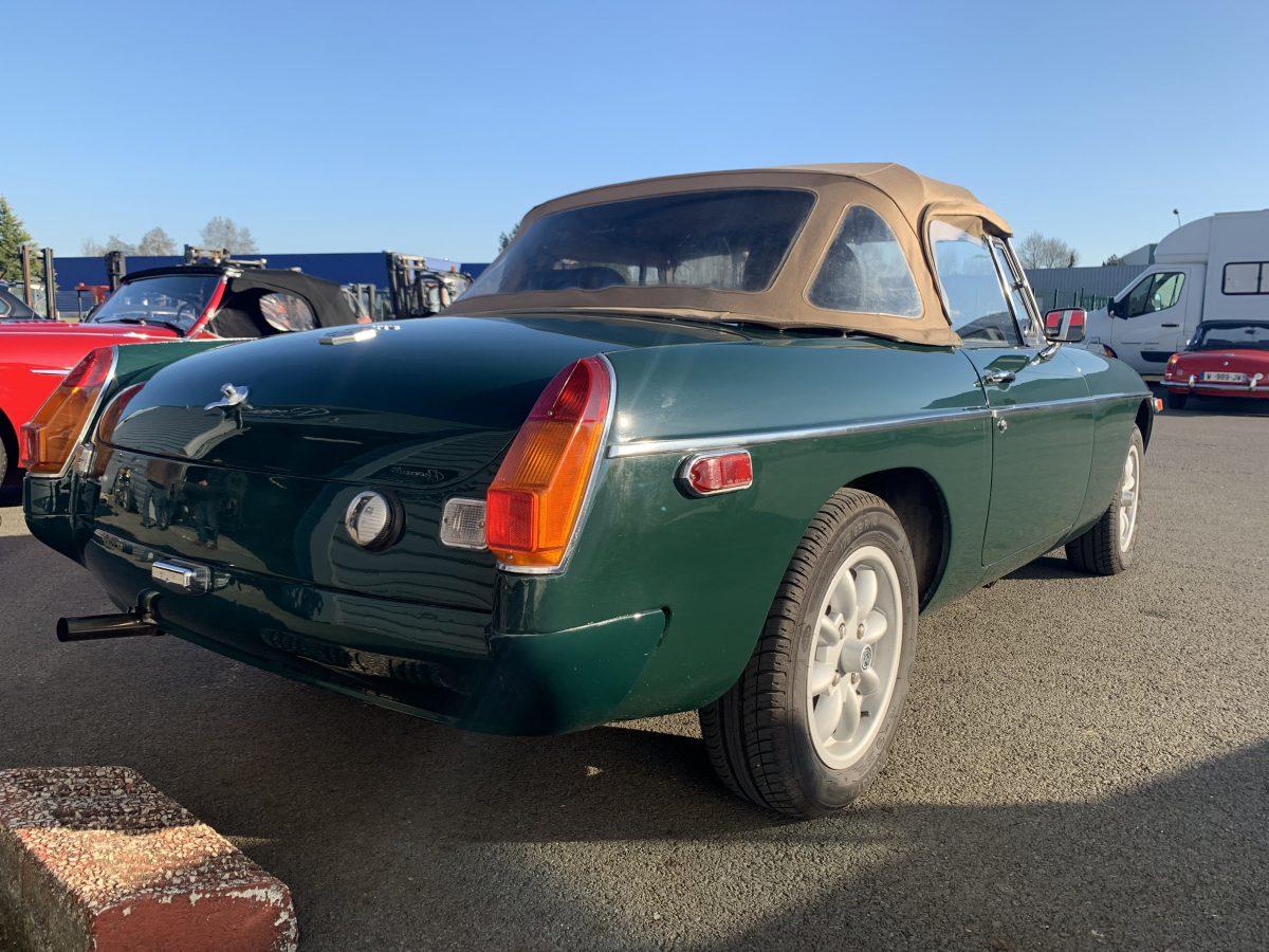 MG B 1973